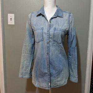Melrose & Market Chambray Button-Up Shirt